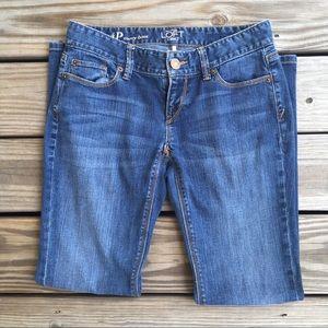 Ann Taylor Loft curvy boot jeans